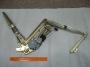 Механизм стеклоподъемника электрический с мотором (левый) NQR 71